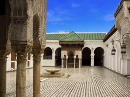 Maroc - université Al Quaraouiyine de Fès, plus ancienne université au monde encore en activité