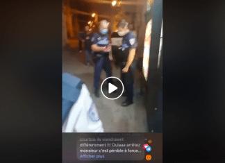 Montpellier Mounir accuse des policiers municipaux de l'harcèlement quotidien dans son commerce - VIDEO2