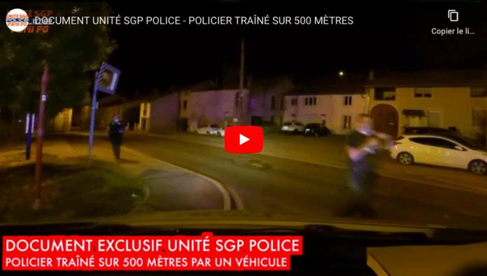 Nancy la vidéo folle d'un policier traîné sur un kilomètre par des mineurs fuyant un contrôle