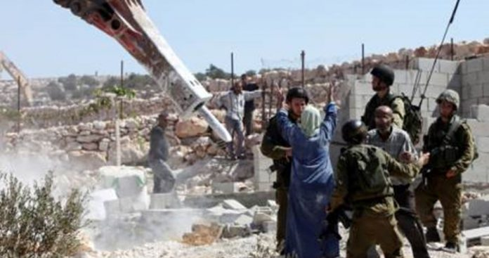 ONU - Israël démolit 25 structures palestiniennes et déplace 32 personnes en 2 semaines