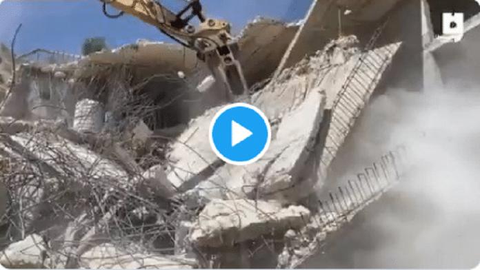 Palestine : Israël démolit un bâtiment de quatre étages appartenant à huit familles - VIDÉO