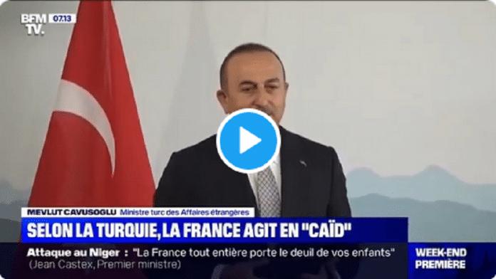 Politique : la Turquie accuse la France de se prendre pour un