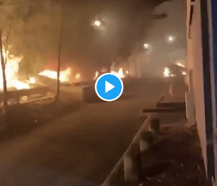 Reims : Nuit de violences urbaines entre jeunes et policiers et pompiers - VIDEO