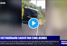 Seine-Maritime : Ousman Sy, l'un des jeunes ayant sauvé un octogénaire d'une voie ferrée témoigne