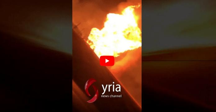 Syrie : Une forte explosion plonge le pays entier dans le noir - VIDÉO