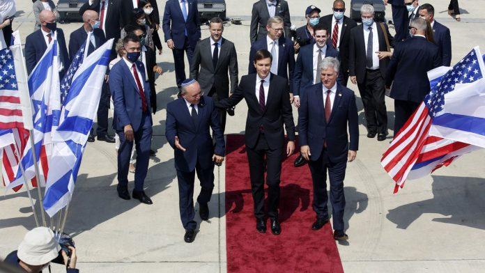 Une délégation américano-israélienne arrive aux Emirats Arabes Unis pour une réunion historique