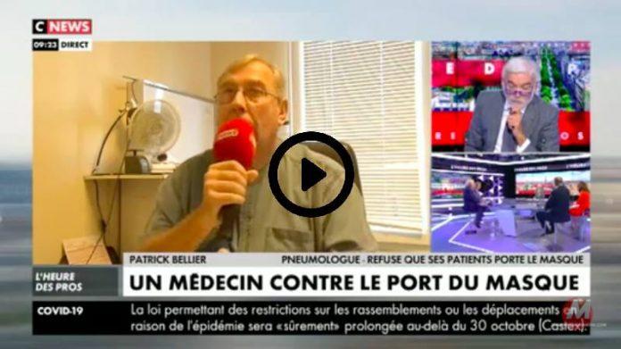 «Le masque ne sert à rien et risque de provoquer des maladies» affirme un pneumologue - VIDEO