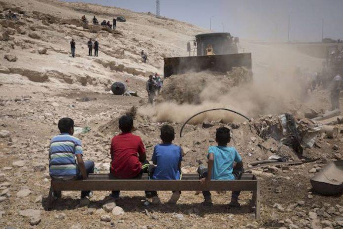 «Même les grottes ne sont pas à l'abri des bulldozers israéliens» déclarent les Palestiniens (1)
