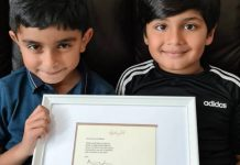 Angelina Jolie fait un don «extrêmement généreux» à Ayaan et Mikaeel qui vendent de la limonade pour aider les enfants du Yémen (1)