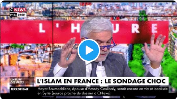 CNews valide un sondage Ifop plus que douteux au sujet des musulmans - VIDÉO