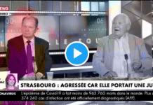 """""""C'est un attentat islamique !"""" : un journaliste dérape en direct suite à l'agression d'une jeune femme à Strasbourg"""