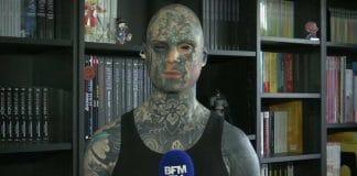 Essonne - un instituteur tatoué de la tête aux pieds regrette de ne plus enseigner en maternelle