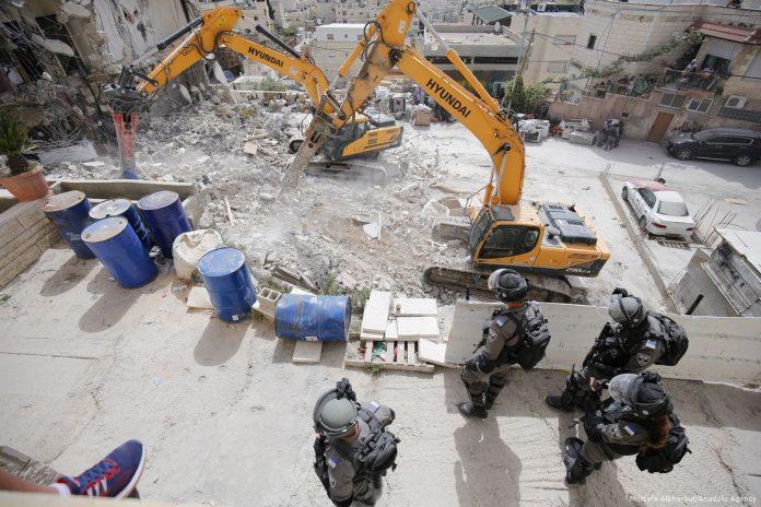 Israël a démoli plus de 500 bâtiments palestiniens jusqu'à présent cette année