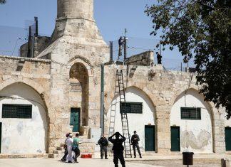 Israël installe plus de haut-parleurs à la mosquée Al-Aqsa pour étendre sa surveillance