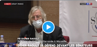 """""""Je n'aime pas qu'on m'insulte !"""" : Face au Sénat, Didier Raoult s'emporte - VIDÉO"""