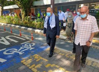 Malaisie - la ville de Kuala Lumpur inaugure officiellement la « rue de la Palestine » (1)