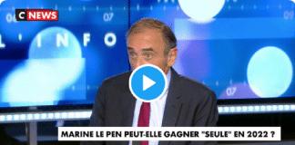 """""""Marine Le Pen est le meilleur atout d'Emmanuel Macron"""" selon Éric Zemmour - VIDEO"""