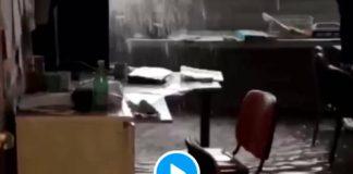 Marseille l'hôpital de la Timone complètement inondé après des orages ravageurs - VIDEO