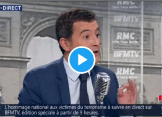 """""""Mon deuxième prénom, c'est Moussa"""" : Gérald Darmanin rappelle ses origines algériennes à Jean-Jacques Bourdin"""