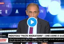 """""""On ne veut plus d'immigration, ça va finir dans un bain de sang!"""" menace Eric Zemmour - VIDÉO"""