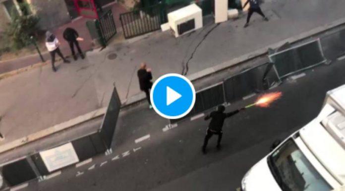 Panique à Belleville après des tirs de mortiers dans un parc pour enfants et en pleine rue - VIDEO (1)