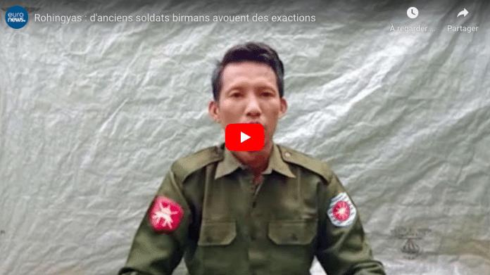 Rohingyas d'anciens soldats birmans avouent les meurtres de musulmans