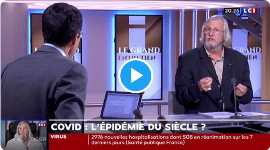 Sur LCI, Didier Raoult défend le métissage et se ...