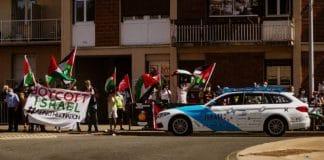 Tour de France - des militants palestiniens se mobilisent contre la participation de l'équipe israélienne