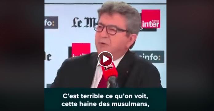 «99,9% des musulmans demandent qu'on leur foute la paix !» Jean-Luc Mélenchon monte au créneau - VIDEO