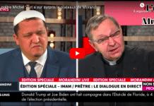 «Le blasphème ce n'est pas la liberté» un prêtre s'oppose aux caricatures face à Hassan Chalgoumi qui les défend - VIDEO