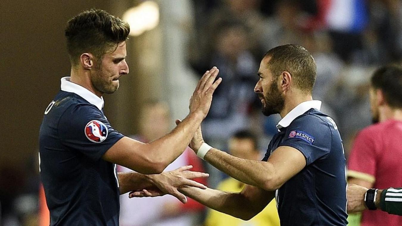 Giroud réagit à la pique de Benzema — EdF