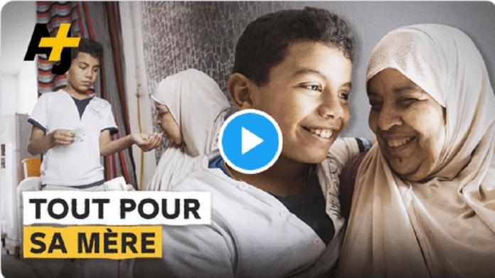Algérie : Mohammad Rafik, 9 ans, entièrement dévoué à sa mère malade - VIDÉO