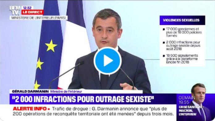 Gérald Darmanin : «12 lieux de radicalisation fermés dont 4 débits de boissons» - VIDEO
