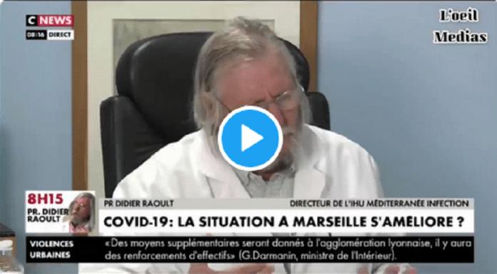 Coronavirus : Le Professeur Raoult annonce