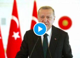 Défense des musulmans de France Recep Erdogan adresse un message vidéo à Emmanuel Macron