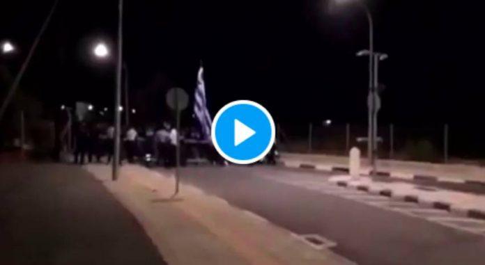 Des grecs provoquent Erdogan et violent la frontière turque avec des cocktails molotvs - VIDEO (1)