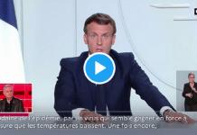 """Emmanuel Macron prévoit une """"deuxième vague plus meurtrière que la première"""""""