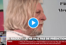"""""""Je ne sais pas comment je peux changer votre cervelle !"""" s'énerve Didier Raoult sur David Pujadas"""