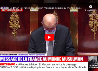 Jean-Yves Le Drian La France adresse un «message de paix au monde musulman»