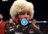 """Khabib Nurmagomedov gagne son dernier combat et déclare au journaliste : """"Al HamdouliLLah"""""""