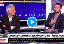 Le député David Guiraud défend le CCIF en direct sur le plateau de CNews - VIDEO