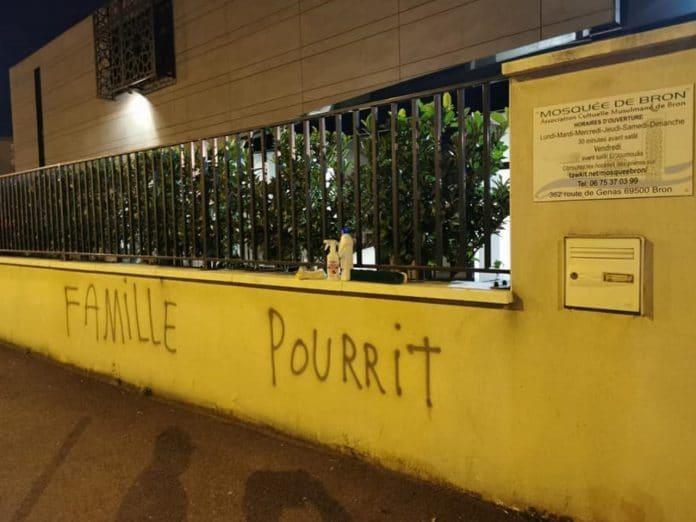 Lyon - la mosquée de Bron victime de tags islamophobes