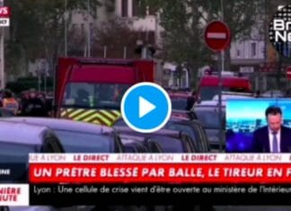 Lyon le prêtre blessé par balle devant son église serait victime d'un règlement de compte d'un ancien fidèle - VIDEO (1)