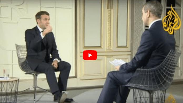 Macron explique sur Al Jazeera :