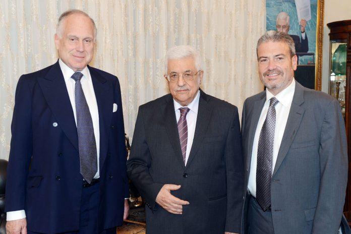 Mahmoud Abbas rencontre le président du Congrès juif mondial en Cisjordanie