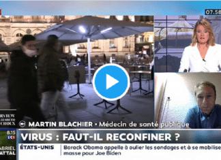 """""""On est obligés de refaire un confinement dès la semaine prochaine"""" explique Docteur Blachier"""
