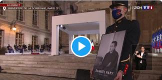 """""""Samuel Paty avait lu le Coran et s'intéressait à la civilisation musulmane"""" explique Emmanuel Macron"""