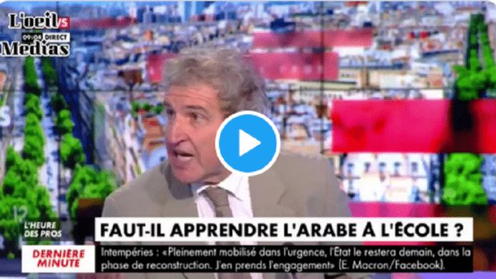 Une journaliste rappelle que la langue arabe est déjà utilisée par tous les français - VIDÉO