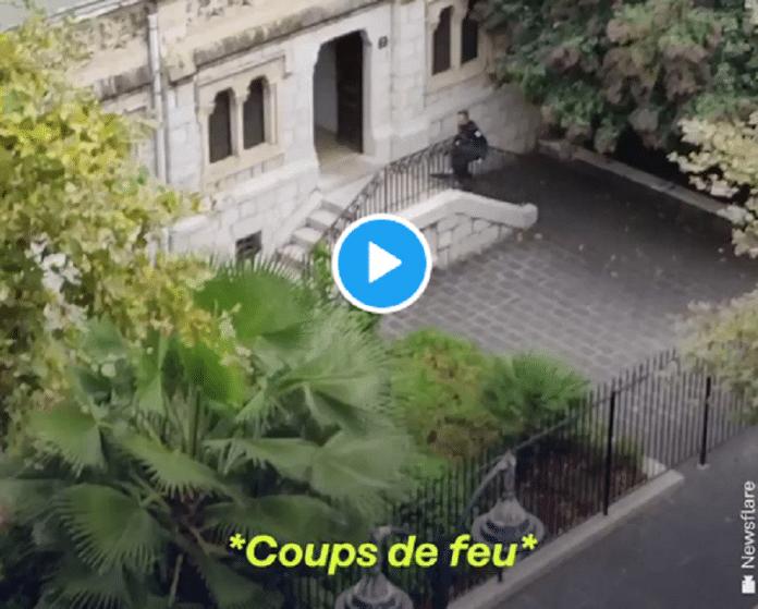 Voici les images de l'assaut de la police dans la basilique Notre-Dame de Nice