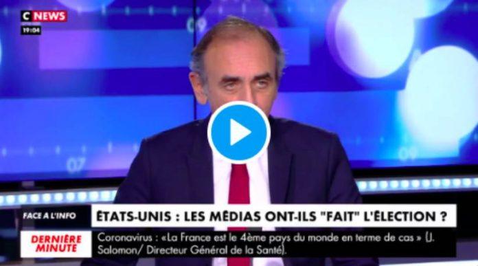 """«C'est un coup d'État médiatique contre Trump !"""" accuse Eric Zemmour - VIDEO"""